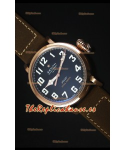 Zenith Pilot Type 20 Extra Special Edition Reloj Replica Suizo escala 1:1 Oro Rosado