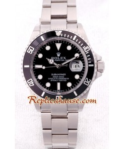 Rolex Réplica Submariner Stainless Steel Reloj Suizo