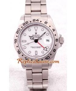 Rolex Réplica Explorer II -Silver