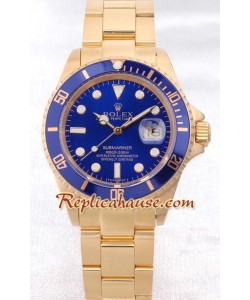 Rolex Réplica Submariner-Gold