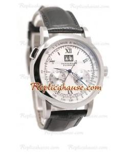 A. Lange Sohne Datograph Flyback Reloj Suizo de imitación