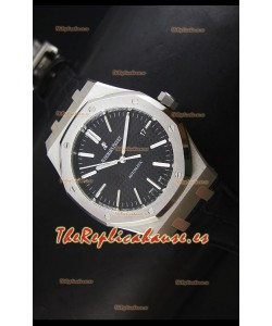 Audemars Piguet Royal Oak 41MM Reloj con Correa de Piel - Movimiento 3120 Ultimate 1:1
