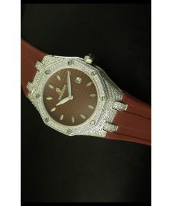 Audemars Piguet Royal Oak, Reloj de mujer en color Marrón