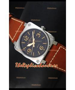 Bell & Ross Aviation BR03-92 Reloj Suizo Edición Golden Heritage