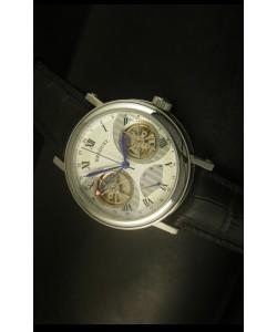 Breguet Dual Tourbillon Reloj con Movimiento Japonés