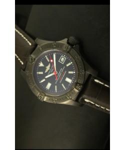 Breitling Seawolf Reloj Suizo con Revestimiento PVD - Stick Markers