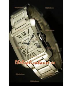 Cartier Tank Anglaise Mid Sized, Reloj Réplica Suiza - Réplica en escala 1:1