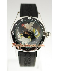 Corum Bubble Dive Reloj Réplica - Kai Chen el dial