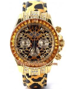 Rolex Réplica Daytona Leopard Edición Reloj