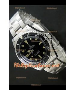 """Reloj japonés Rolex Olyster perpetuo clásico 200M """"Sin Fecha""""."""