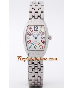 Franck Muller Crazy Color Dreams Reloj para Dama