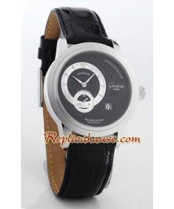 Glashuette PanoMaticFecha Reloj