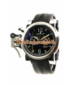 Graham Chronofighter Overtamaño Mark III Reloj Réplica