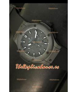 Hublot Edición Big Bang Matte, Reloj Suizo, caja de cerámica - Réplica en escala 1:1