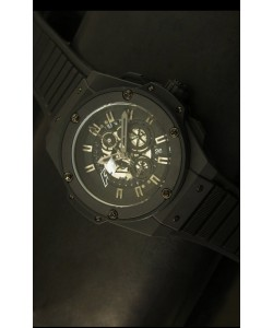 Hublot Big Bang King F1 Reloj de Cuarzo Suizo con Revestimiento PVD 45MM