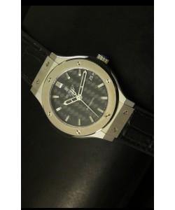 Hublot Classic Fusion Reloj con Caja de Acero y Dial de Carbón 39MM