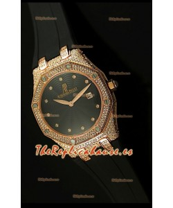 Audemars Piguet Royal Oak, Reloj Réplica de mujer en Caja de Oro Rosado