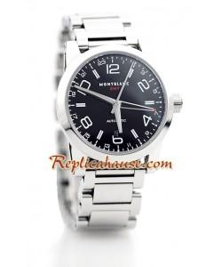 Mont Blanc Timewalker GMT Reloj Suizo de imitación