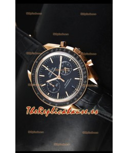 Omega Speedmaster Moon Reloj Réplica Japonés Co-Axial Caja en Oro Rosado