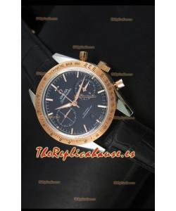 Omega Speedmaster Moon Reloj Suizo Co-Axial en Dos Tonos - Réplica Espejo 1:1