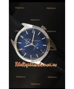 Omega Globemaster Reloj Suizo Co-Axial Dial Azul Oscuro Caja Acero Inoxidable - Reloj Réplica Espejo 1:1