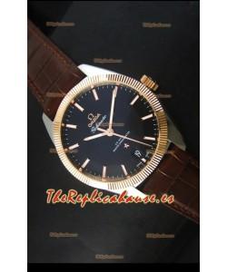 Omega Globemaster Reloj Suizo Co-Axial en Dos Tonos - Reloj Réplica Espejo 1:1