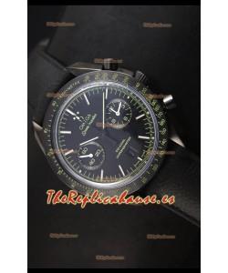 Omega Speedmaster Dark Side of the Moon - Reloj Suizo Pitch Black Réplica Espejo 1:1