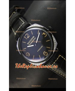 Panerai Radiomir PAM604 3 Days DLC Coated Reloj Suizo con Movimiento Unitas