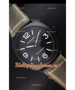 Panerai Radiomir PAM00643 Cerámica 45MM Reloj Suizo - Movimiento Unitas