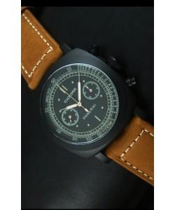 Panerai Radiomir 1940 Reloj Cronógrafo con Revestimiento PVD