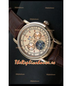 Patek Philippe Complications Tourbillon, Reloj Réplica Japonesa color Oro Rosado
