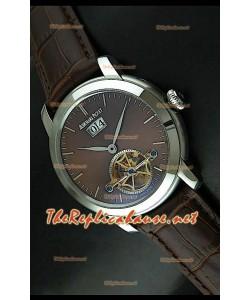 Edición japonesa del reloj de esfera marrón Audemars Piguet Jules Audemars.