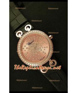 Chopard Xtraveganza Reloj para Señoras con Diamantes Incrustados en Carcasa