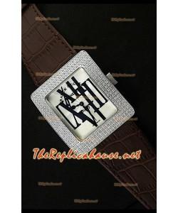 Franck Muller enfenity Réplica Reloj Señoras con Números romanos