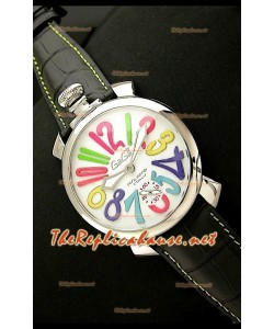 GaGa Milano Reloj Manual en Acero - 48MM