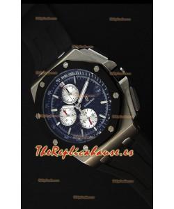 Audemars Piguet Royal Oak Offshore Reloj Cronógrafo de Cuarzo Suizo, Caja de Acero Inoxidable.