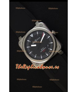 Bell & Ross BR03-92 Horograph Reloj Réplica a Espejo 1:1 - Dial Negro Correa de Goma Suiza