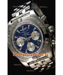 Breitling Chronomat B01 Reloj Réplica Suizo Dial Azul Reloj Réplica Espejo 1:1