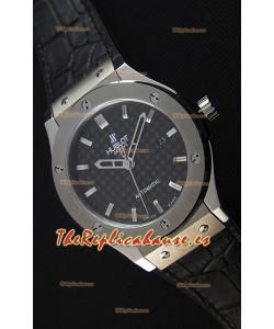 Hublot Classic Fusion Titanium Carbon Dial Reloj Réplica Suizo - Réplica a Espejo 1:1