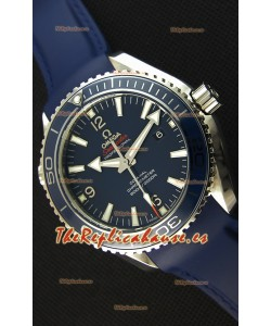 Omega Seamaster Planet Ocean Swiss Correa Azul Réplica 45MM 1:1 Ultimate Edition Watch