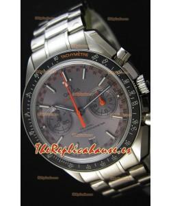 Omega Speedmaster Racing Co-Axial Master Reloj Réplica Suizo Cronógrafo en Dial Gris