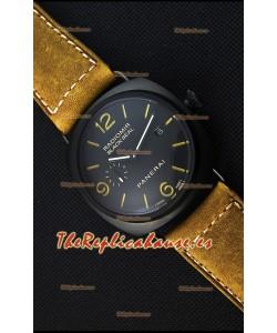 Panerai Radiomir Black Seal PAM292 Reloj Réplica Japonés Dial en Negro