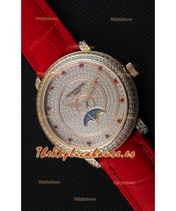 Patek Philippe Complications 4968/R Reloj Réplica Suizo Caja en Oro Rosado