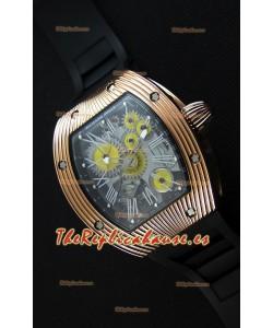 Richard Mille RM 018 Tourbillon Hommage A Boucheron Reloj Suizo con Caja en Oro Amarillo
