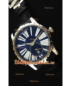 Roger Dubuis Excalibur RDDBEX0378 Reloj Réplica Suizo de Acero color Azul