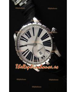 Roger Dubuis Excalibur RDDBEX0460 Reloj Réplica Suizo de Acero color Blanco