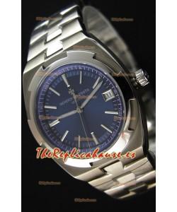 Vacheron Constantin Overseas Reloj Réplica Suizo a Espejo 1:1 con Dial en Azul