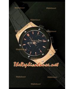 Hublot Vendome Reloj Japonés Oro Rosa y Cronógrafo