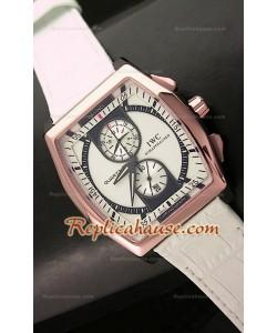 Reloj Japonés de Oro Rosa IWC Da Venci Kurt Klaus Edición Limitada