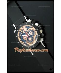 Jacob y Co Epic II Reproducción Japonesa del Reloj en Oro